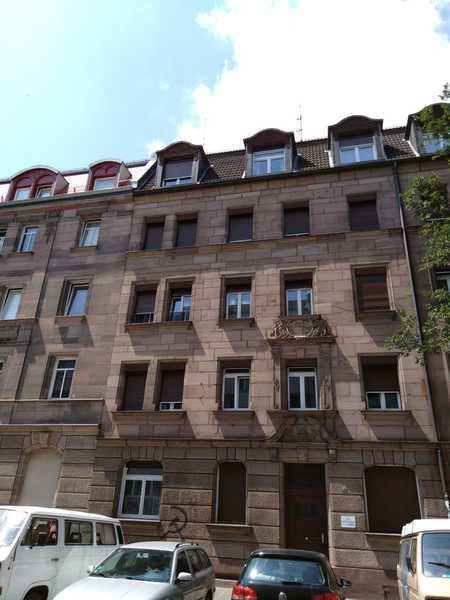Gostenhof, 2,5-Zimmer-Wohnung mit Balkon und Einbauküche in Himpfelshof (Nürnberg)