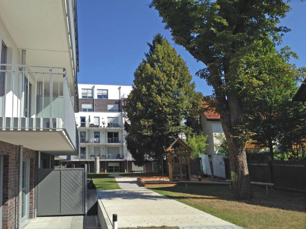 Ansicht Balanstr. Gartenseite