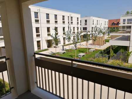 Erstbezug: Schöne 2-Zimmer-Wohnung mit Loggia zum ruhigen Innenhof in Trudering (München)