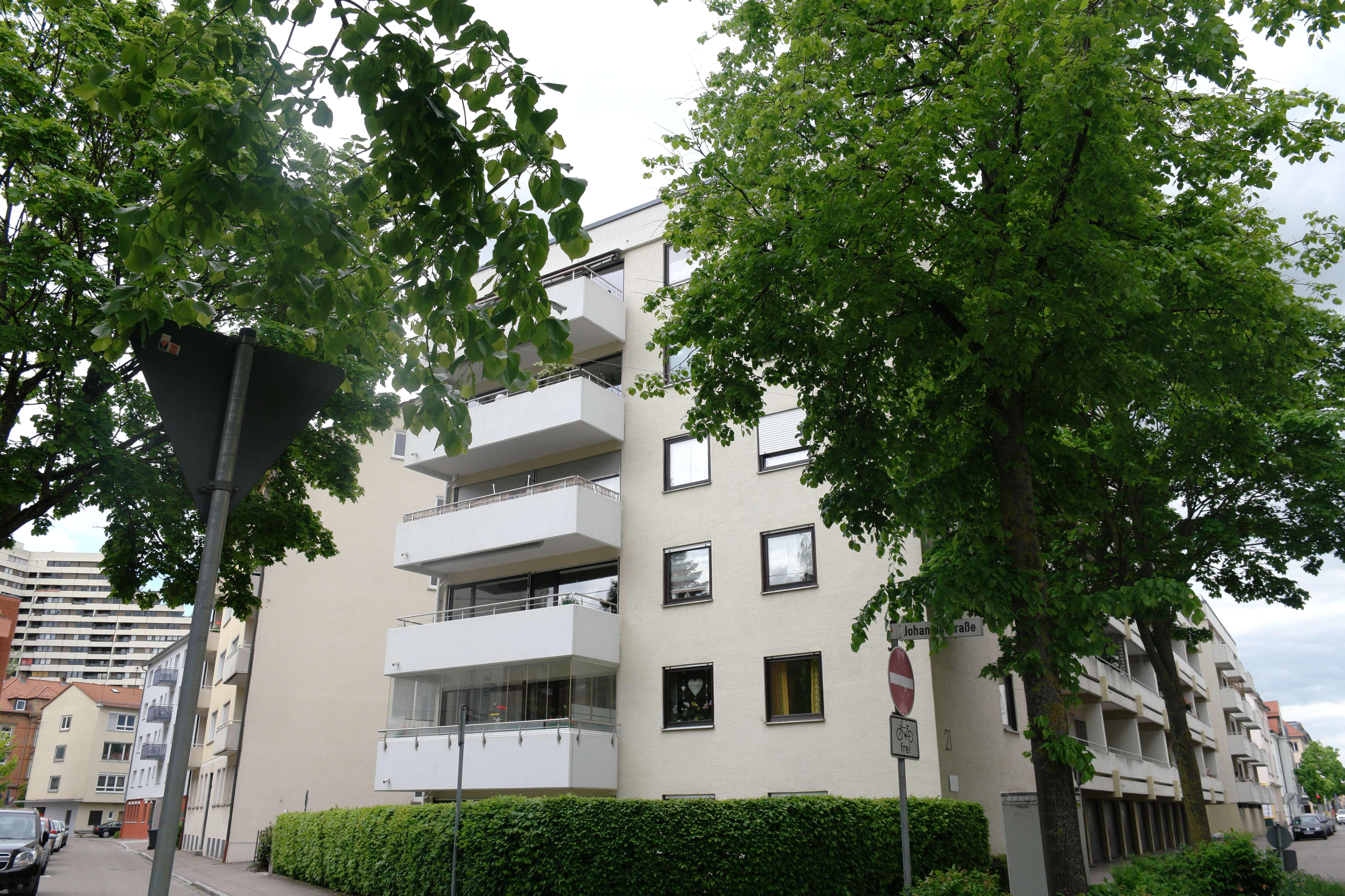 Gepflegte 4-Zimmer-Wohnung mit Balkon in Neu-Ulm