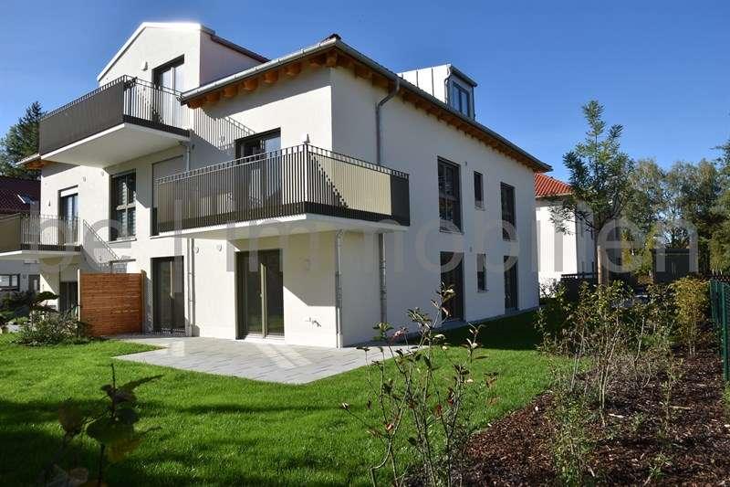 wunderschöne 3-Zimmer-Gartenwohnung in München-Aubing in Aubing (München)