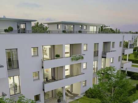 Neubau - Exclusive 3,5  Zimmerwohnung im 2.OG mit großer Dachterasse in Aubing (München)