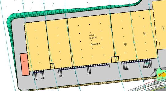Planung Halle 3