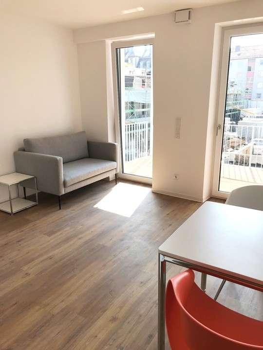 ***Modern möbliertes 1-Zimmer Apartment mit Terrasse und Garten in