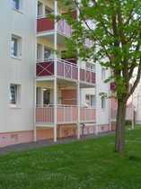 3-Raum-Eigentumswohnung mit Balkon in Gispersleben