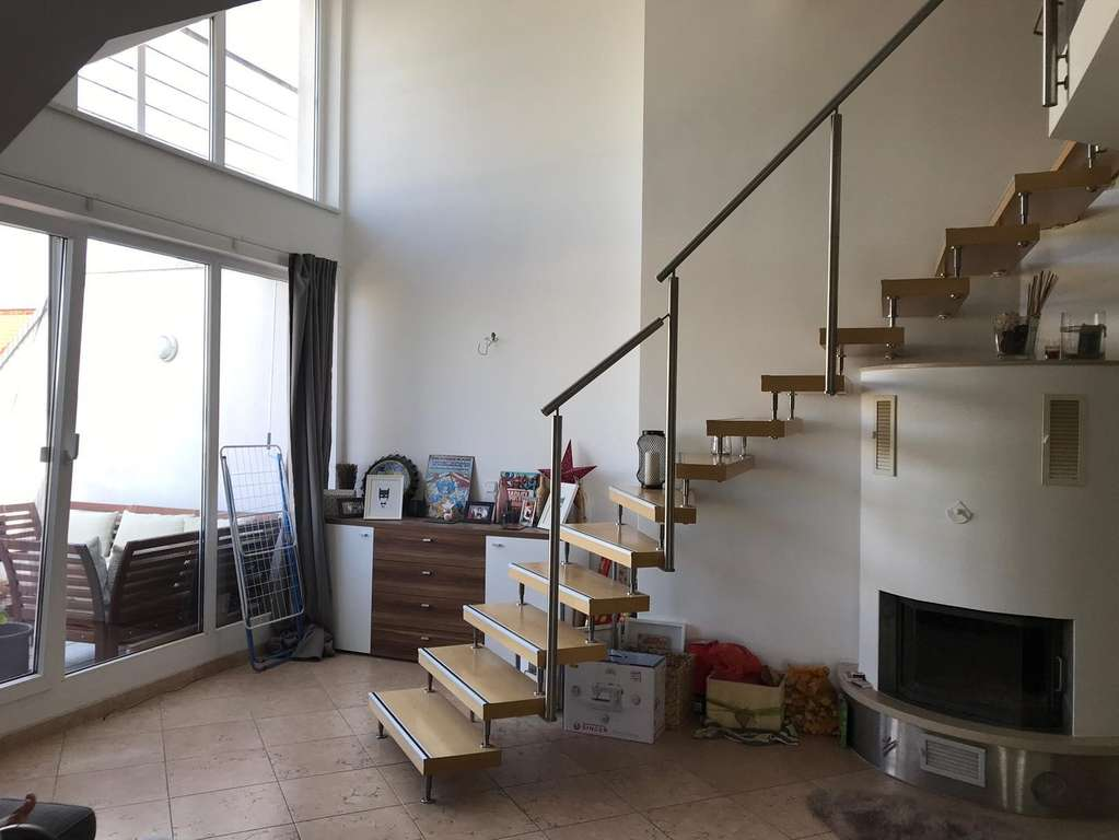 Galerietreppe Wohnzimmer