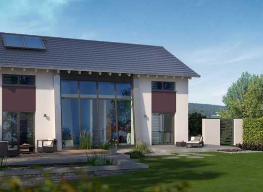 Ihr Designwunder mit riesiger Glasfront auf genialem Grundstück - vom Marktführer aus der Region!