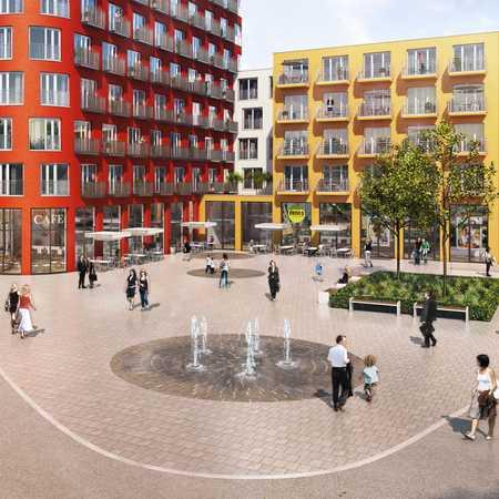 Direkt bei City Galerie - Tolles Apartment [studiosus] mit exklusiven Blick in Innenhof in Augsburg-Innenstadt