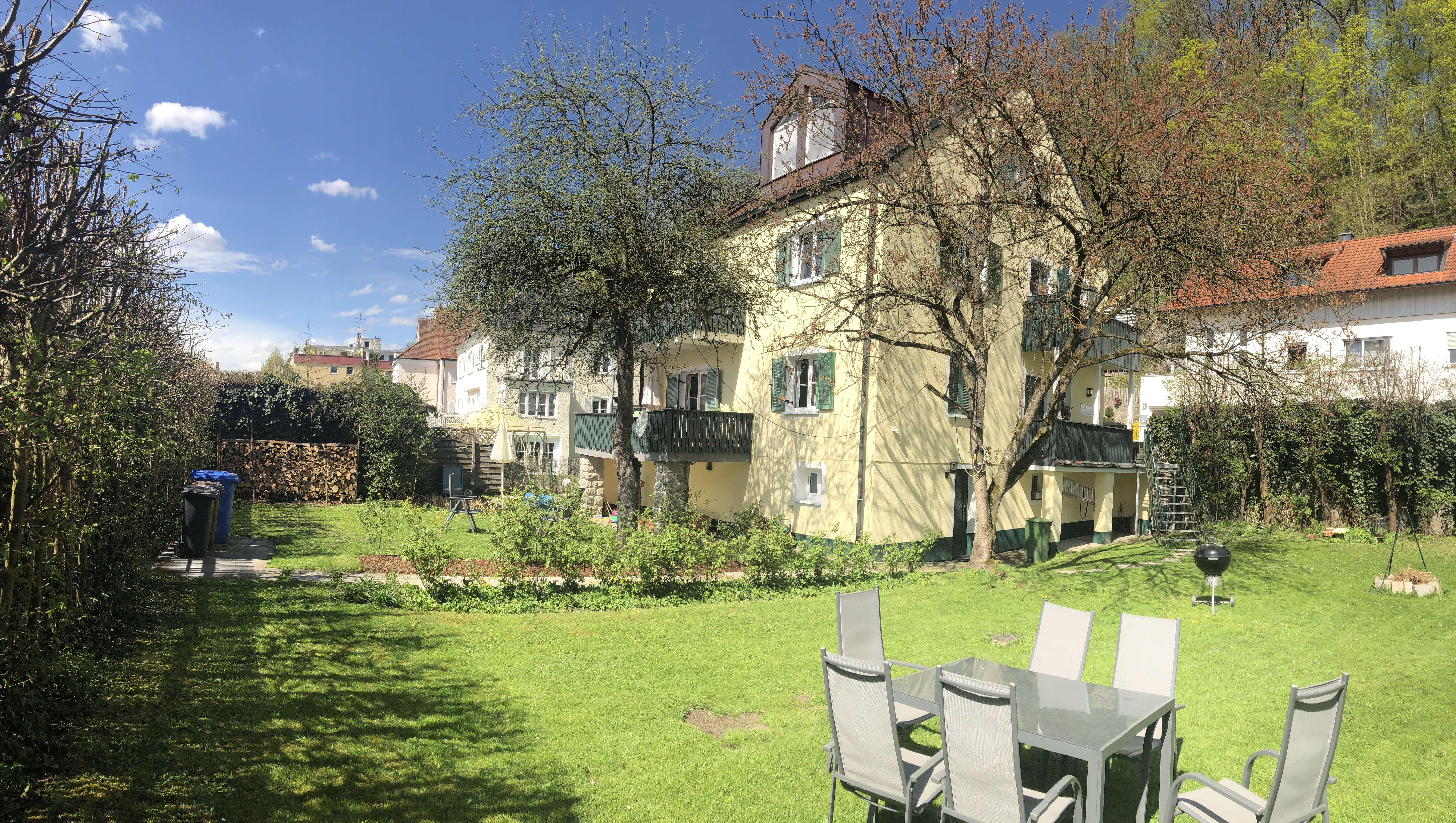 2-Zi DG mit grossem Garten in Hacklberg (Passau)
