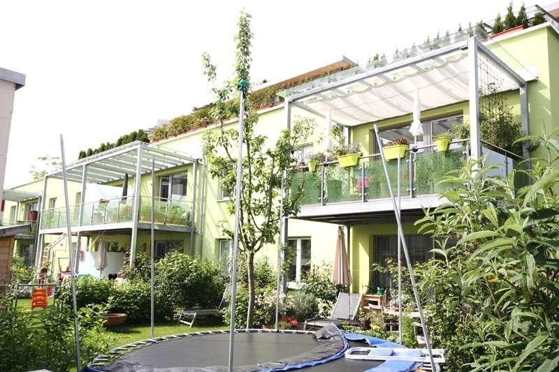 Erding/Zentrum, neuwertige und schöne 3-Zimmer-Erdgeschoss-Wohnung mit Garten in Erding