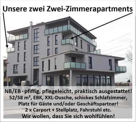 NB/EB - Zwei-Zimmer-Apartments - pfiffig-pflegeleicht-praktisch! in Kleinostheim