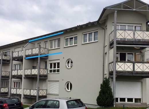 Gepflegte 1-Zimmer-Wohnung mit Balkon und Einbauküche in Amberg