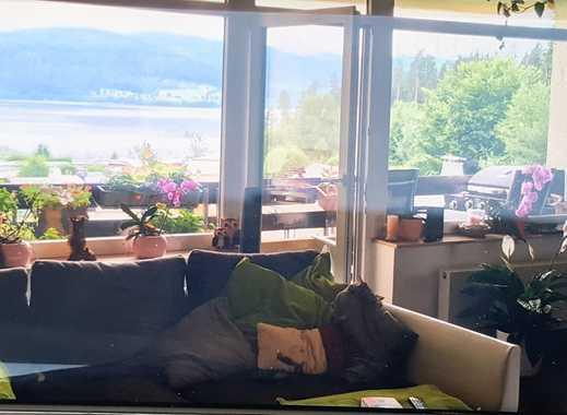2-Zimmer-Wohnung mit Seeblick und großem S/W-Balkon in Schluchsee
