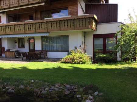 Viereinhalb Zimmer Garten-Wohnung fußläufig zum Zentrum Oberstaufens in Oberstaufen