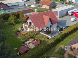 Luftbild vom Grundstück