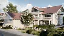 Dachgeschoss mit Alpenpanorama