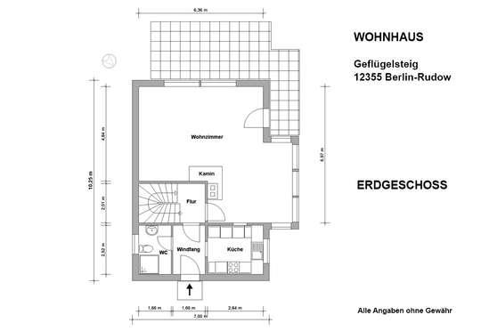 Freistehendes Haus im Rudower Geflügelviertel - 360°- Rundgang - Bild 29