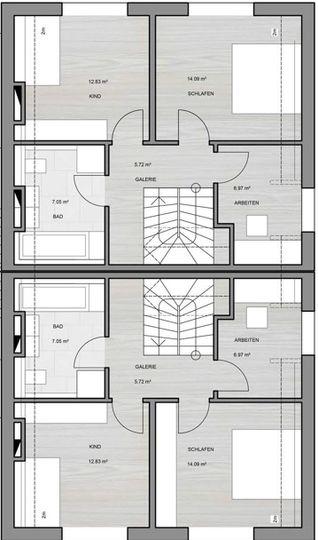 Obergeschoss Beispiel