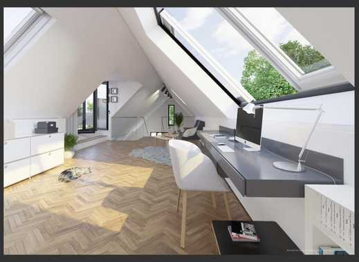 Wunderschöne Neubau-Luxus-Dachgeschosswohnung mit Galerie und Dachterrasse