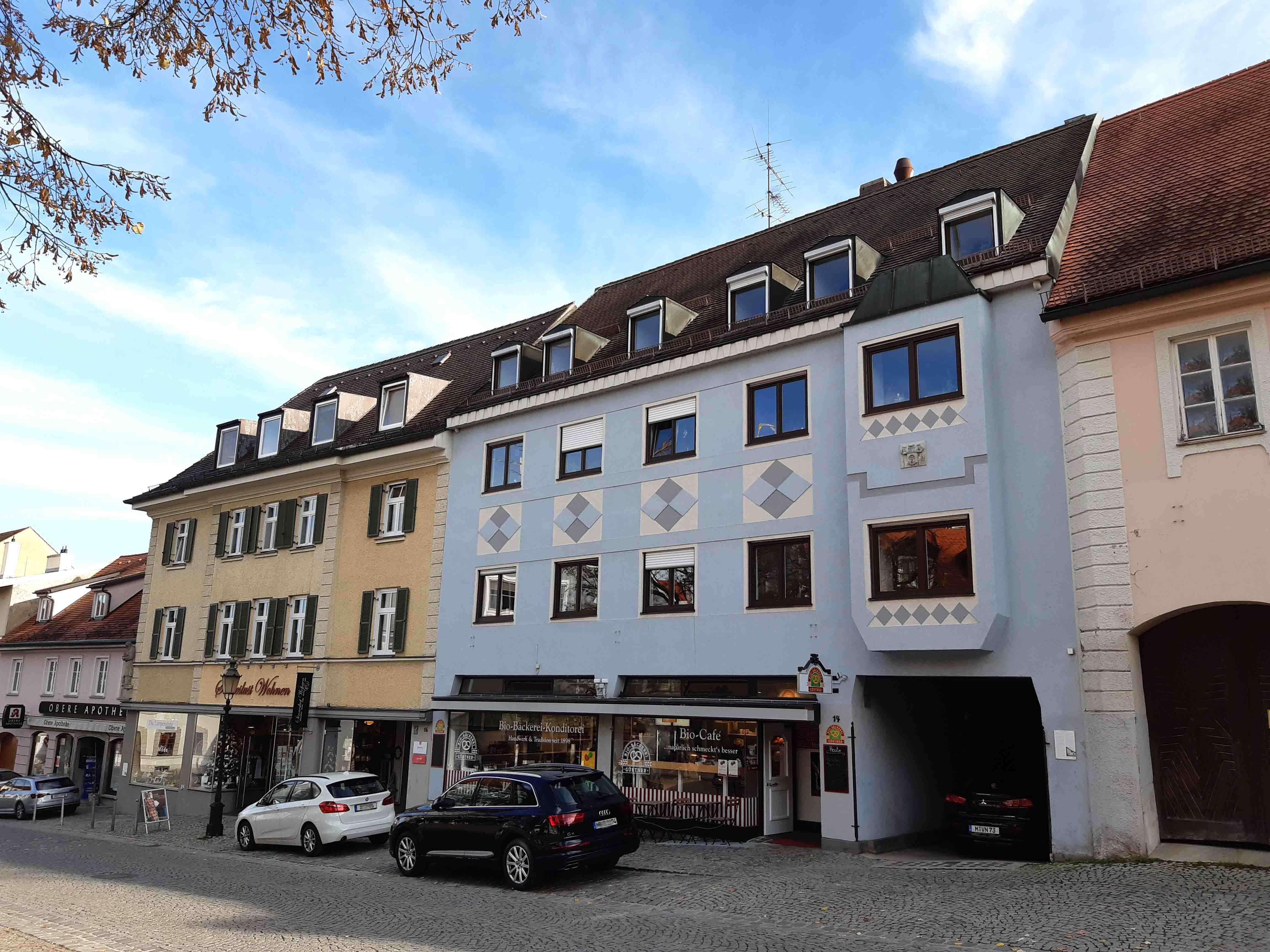 Exklusiv wohnen im Herzen der Dachauer Altstadt in Dachau