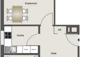 3 Zimmer Wohnung in Neuss (Rhein-Kreis)