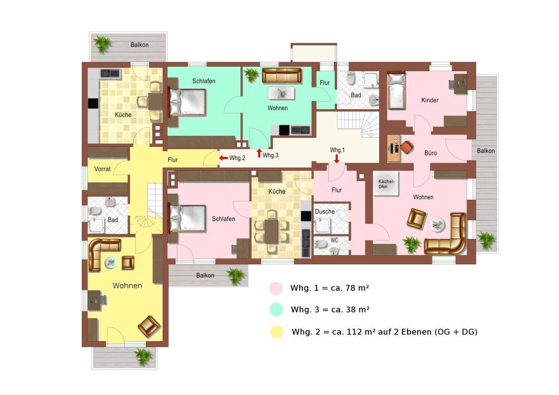 Repräsentatives Wohn- und Geschäftshaus in 1A Lage