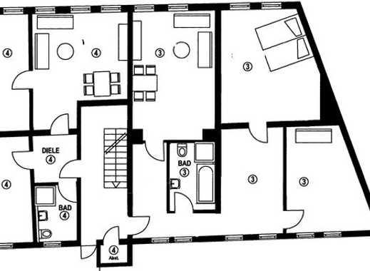 Exklusive, sanierte 3,5-Zimmer-Wohnung mit Einbauküche in Reutlingen