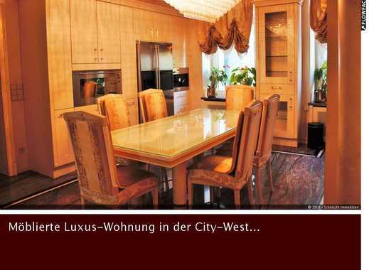 Exquisite Luxus-City-Wohnung! Marmorbäder und 2 Balkone...