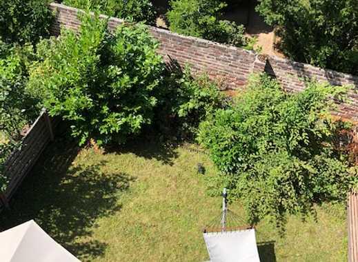 Besonderheit: Ruhig gelegene 2-Zimmer-Wohnung mit schönem Garten in Meerbusch-Büderich