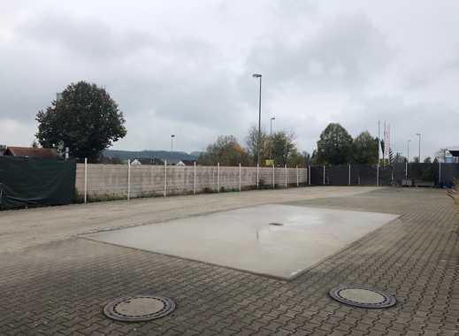 Wohnmobilstellplatz auf eingezäuntem Hallengelände mit 24/7 Videoüberwachung in 86497 Horgau