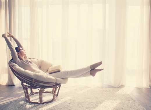 Die Seele baumeln lassen - Ruhe und Platz zum Atmen in Ihrer Penthousewohnung