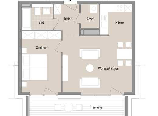 2 Zimmer Neubau Erstbezug im Quartier Stadtgärten am Henninger Turm