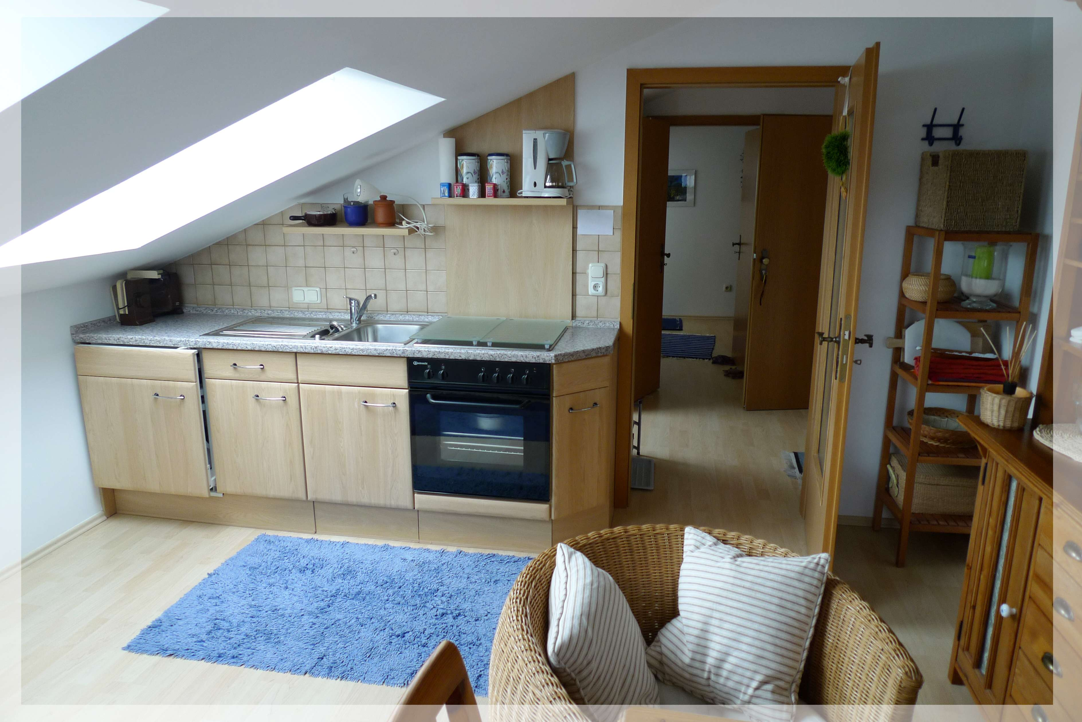 Wohldurchdachte Wohnung im attraktiven Ferienort in Hohenwarth (Cham)
