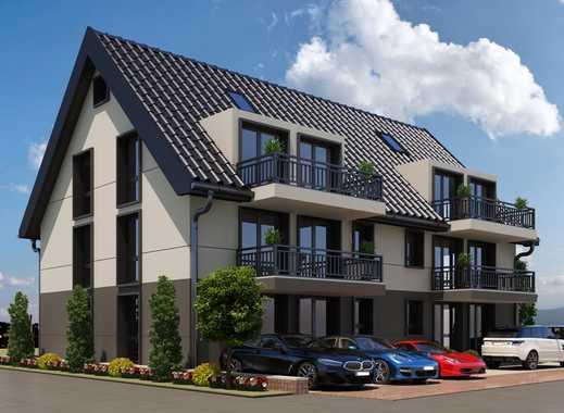 Helle, exclusive 3 ½ Zi. DG-Wohnung im 2. OG mit Balkon in ruhiger Lage + ausbauberem Dachboden