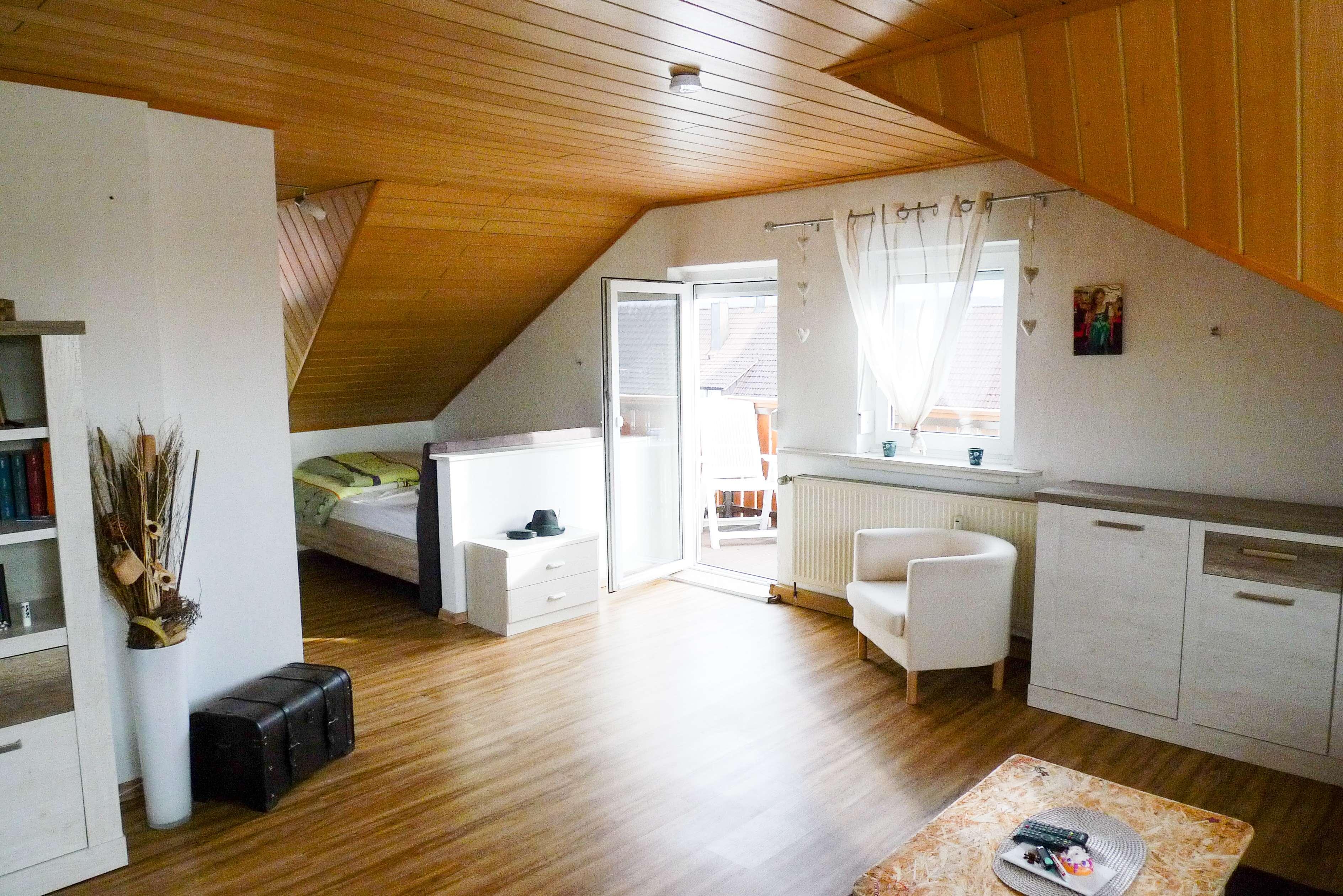 Schöne Dachgeschosswohnung in Rötz in