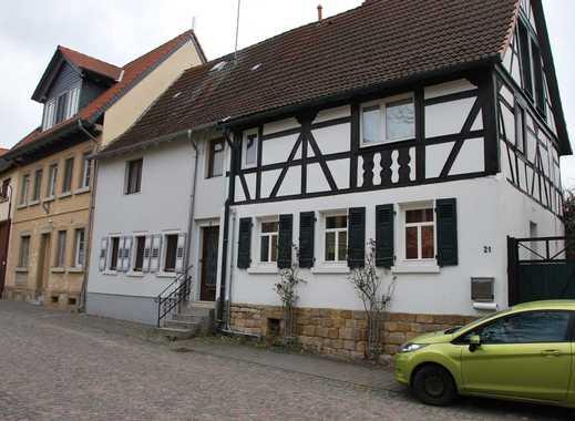PROVISIONSFREI: Saniertes Fachwerkhaus mit großem Scheunentrakt als Ausbaureserve - Bechtolsheim