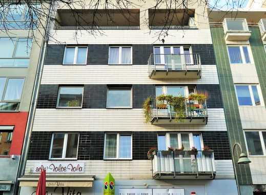 ***Köln-Eigelsteintorburg-Ebertplatz, modernes Großraumappartement mit Terrasse und Hofatelier!***