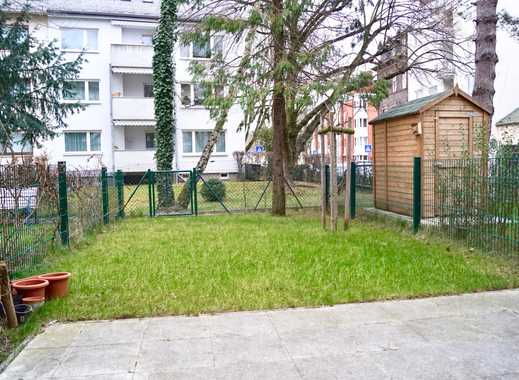 Möbliertes Stadthaus mit Garten, Terrasse & Dachterrasse in F-Höchst!
