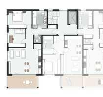 Neubau - 3 Zimmer Wohnung in