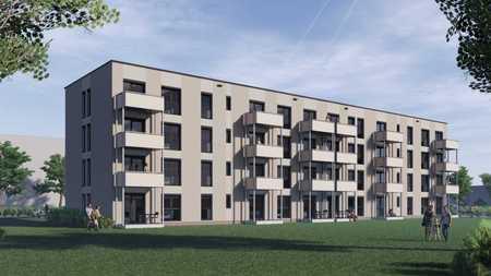 1-Zimmer Neubau Wohnung mit Südbalkon - Erstbezug in Bad Berneck im Fichtelgebirge