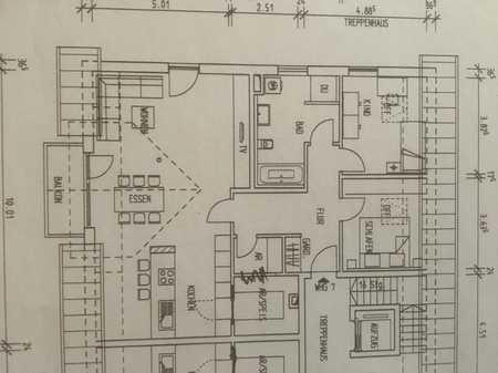 Erstbezug: ansprechende 3-Zimmer-DG-Wohnung mit Balkon in Ergolding in Ergolding