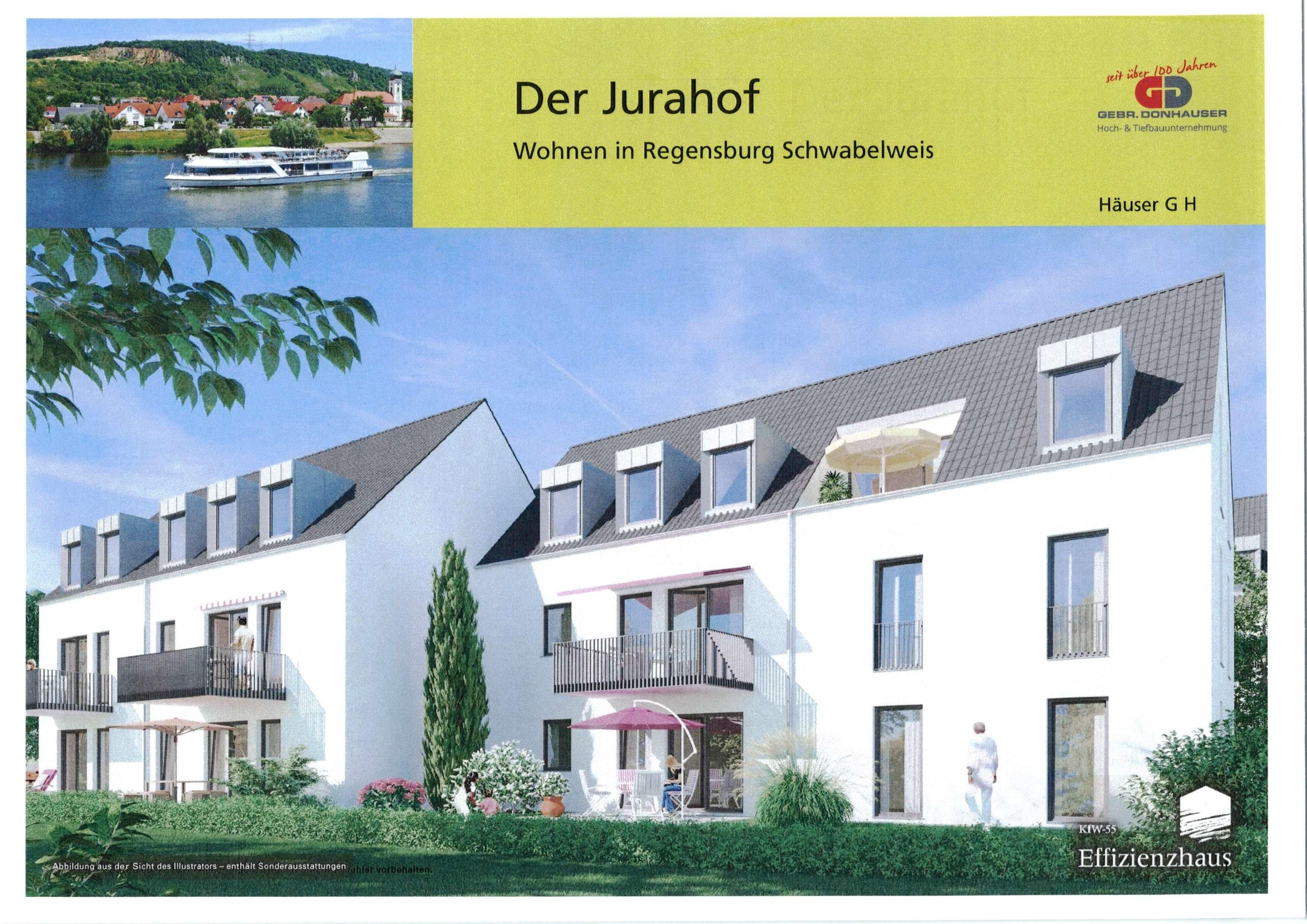 """Zeitlos schön! Neubau EG 2-Zimmer ETW in Schwabelweis """"Der Jurahof"""" in Schwabelweis (Regensburg)"""
