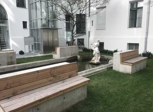 Charmante 4-Zi-Altbauwohnung mit Wintergarten mit Blick ins Grüne (Erstbezug nach Sanierung)