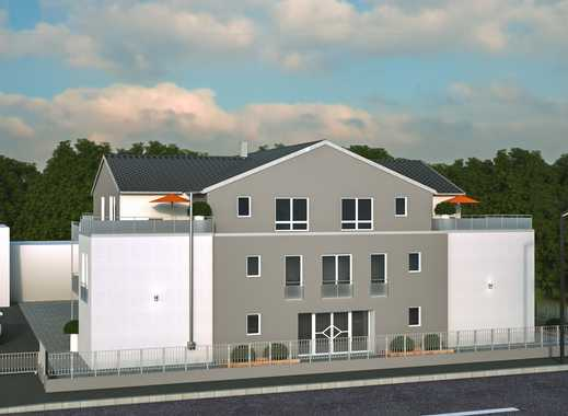 Erstbezug: attraktive 1,5-Zimmer-Penthouse-Wohnung mit großer Dachterrasse in Hamm