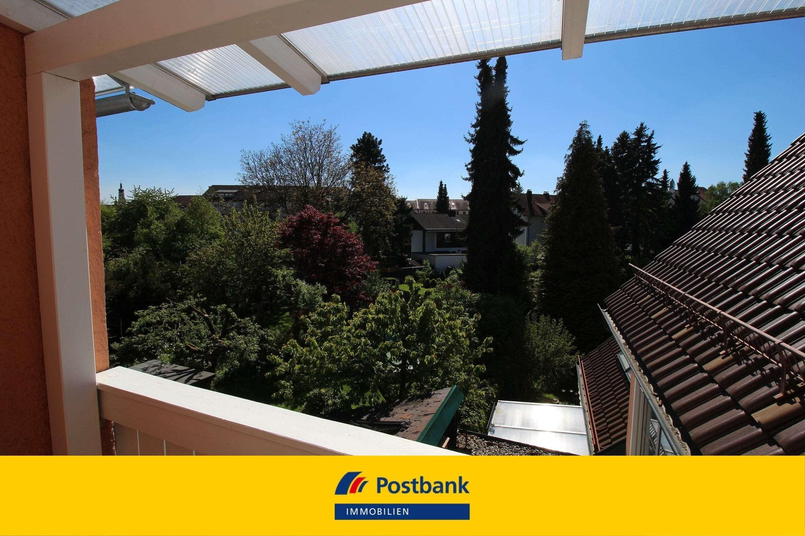 Deggendorf - zentrumsnah!  Schöne 3-Zimmer-Wohnung mit Balkon