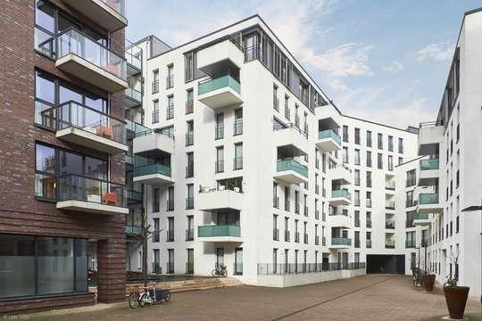 Wohnen in den Wallhöfen: Attraktive 3-Zimmer-Wohnung in zentraler Lage