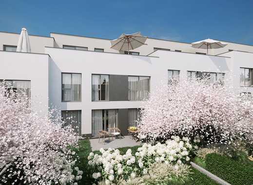 Qualität bis ins kleinste Detail! Gartenhofhaus mit idealem Grundriss ausgebautem Dachgeschoss