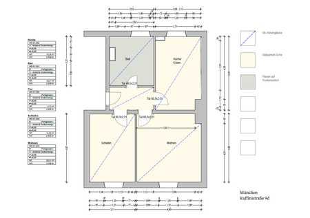 Stilvolle, neuwertige 2-Zimmer-Wohnung mit EBK in Neuhausen, München in Neuhausen (München)