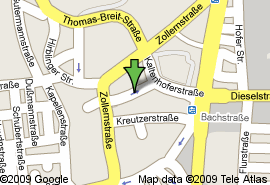 Zentrumsnah! DG-Neuausbau! 2 ZKB! ca.58,42 m²! 580,-€ kalt! in Oberhausen (Augsburg)