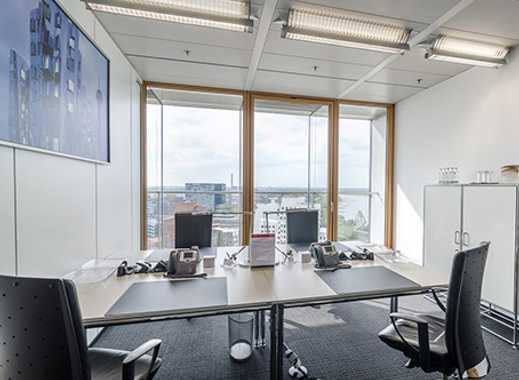 Ihr Privatbüro für 3-4 Personen - Dusseldorf Stadttor Medienhafen